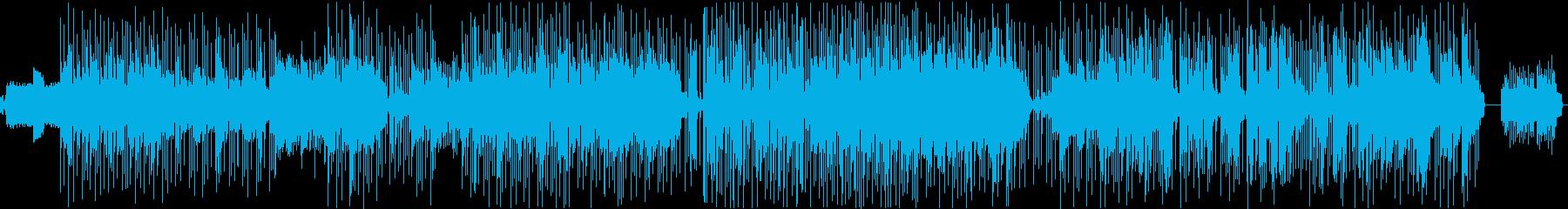 ファンク&ロックの再生済みの波形
