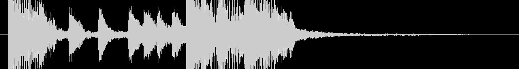 三味線和風バンド・派手目のジングル4秒の未再生の波形