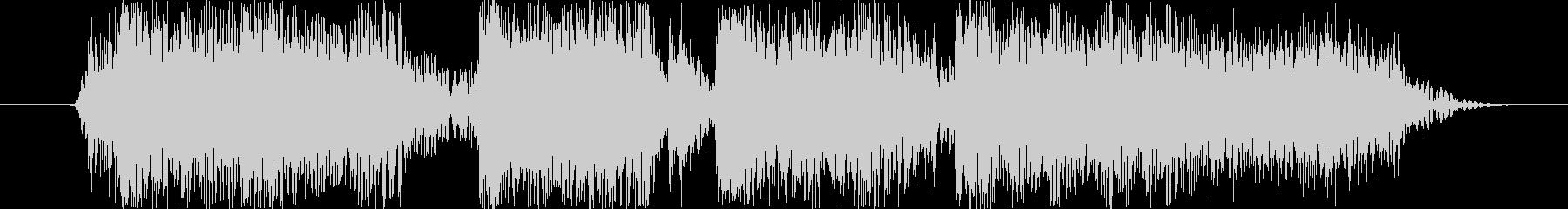 ロックバンドショートジングル004の未再生の波形