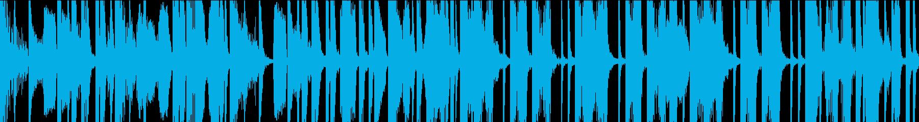 気怠気なボイパ ループの再生済みの波形