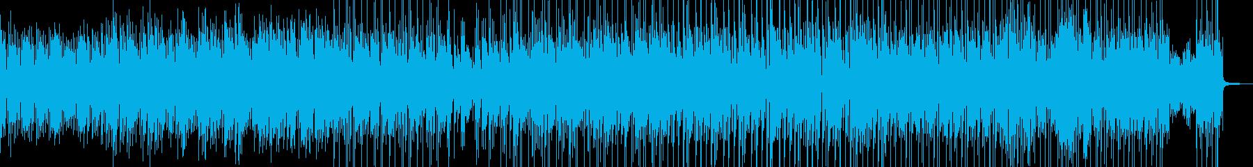 ソフトで優雅なシーンを演出・ラテン Aの再生済みの波形
