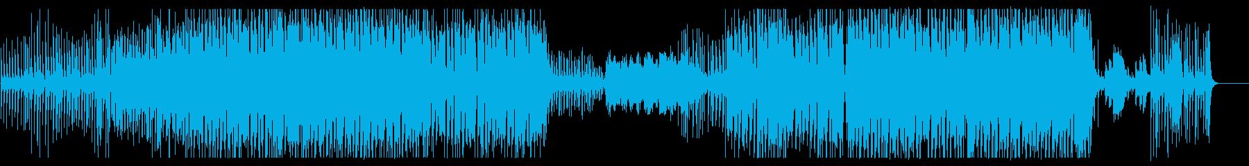妖しげでエキゾチックなエレクトロの再生済みの波形