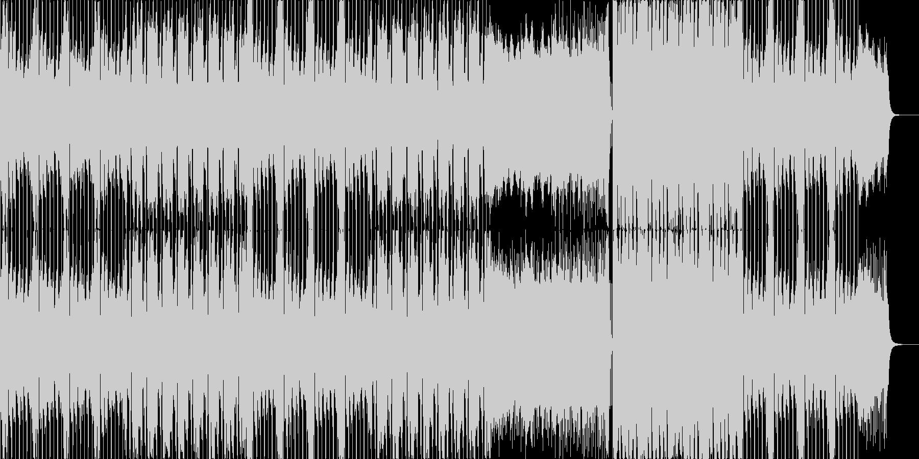 スタイリッシュな映像向け/ダブステップの未再生の波形