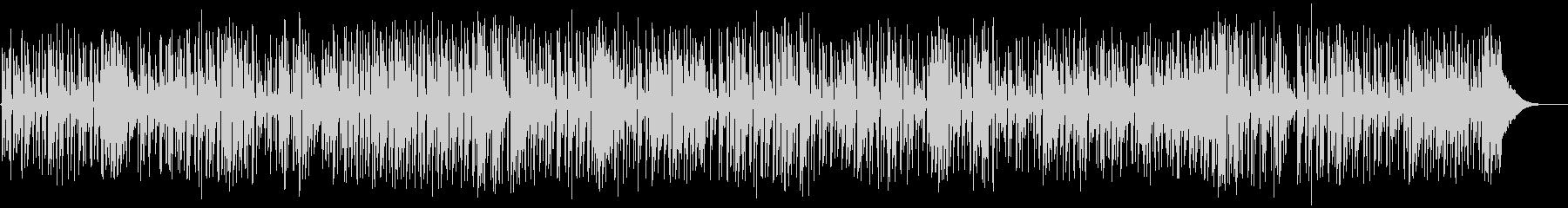 フォークアコースティックギターデュオの未再生の波形