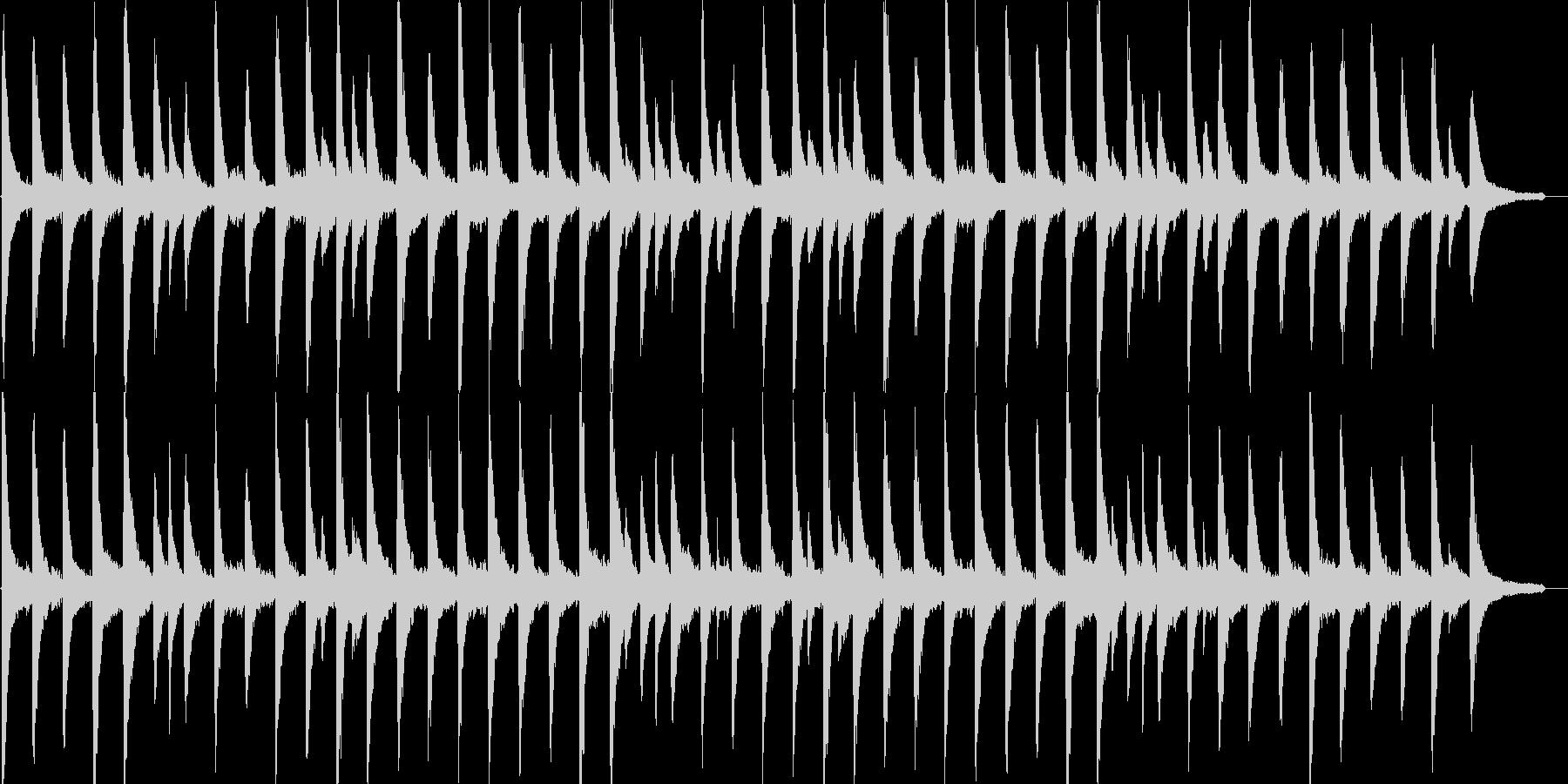 幻想的・優しい・ジャズ・映像・イベント用の未再生の波形