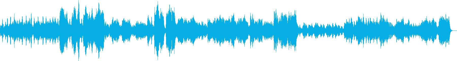 A sad and beautiful orchestra's reproduced waveform