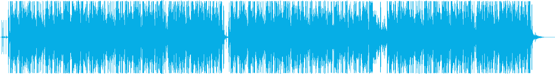 ゆったりした雰囲気のポップ、ヒップホップの再生済みの波形