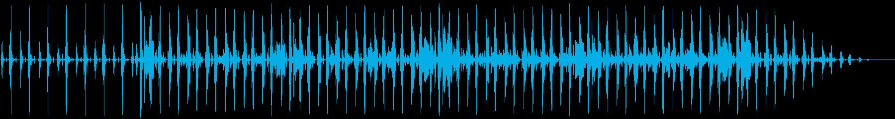 シャッフルビートのネオソウルR&Bの再生済みの波形