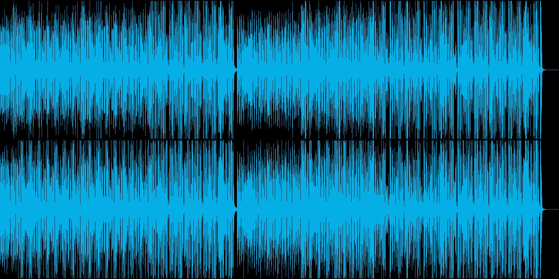 コミカルで明るい口笛のブラスジャズの再生済みの波形