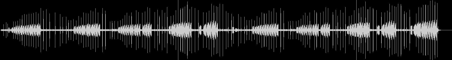 バッタのクリック音とラチェットサウ...の未再生の波形