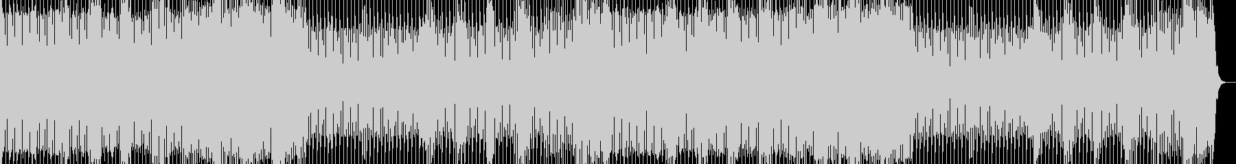 EDM風のマジックショー用BGMの未再生の波形