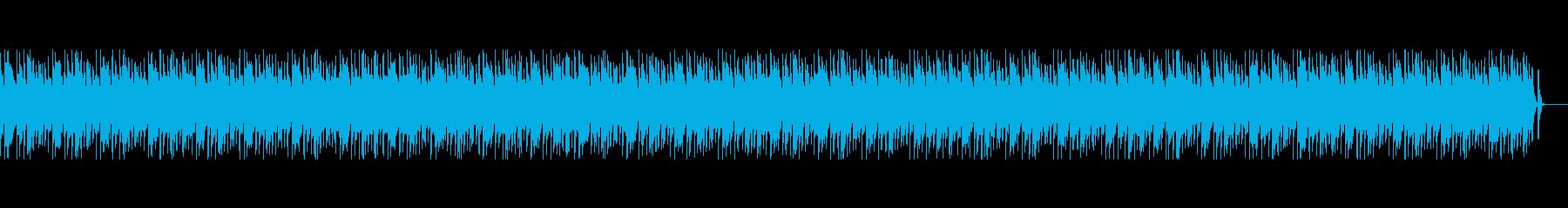 ほのぼのカントリー風ブルース、ドラムレスの再生済みの波形