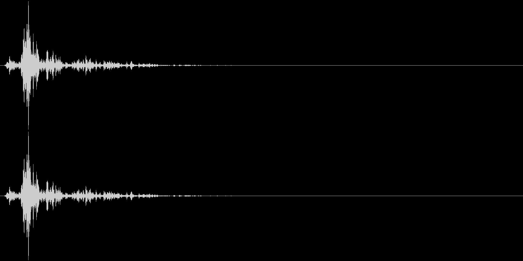音侍SE「シャン〜!」象徴的な鈴の音の未再生の波形