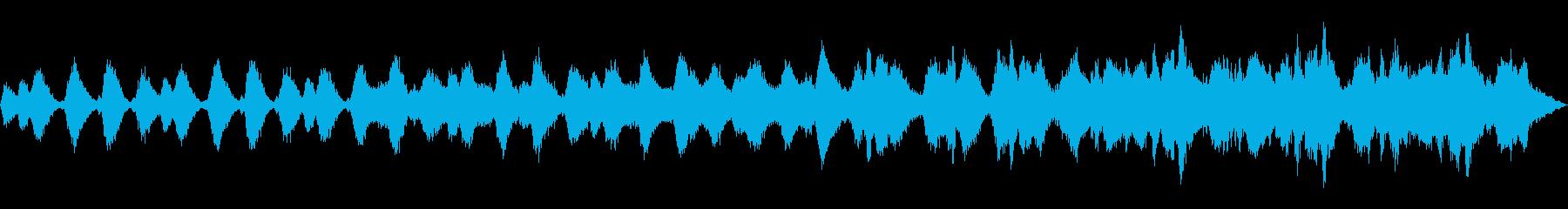 天界をイメージしたヒーリング曲 の再生済みの波形