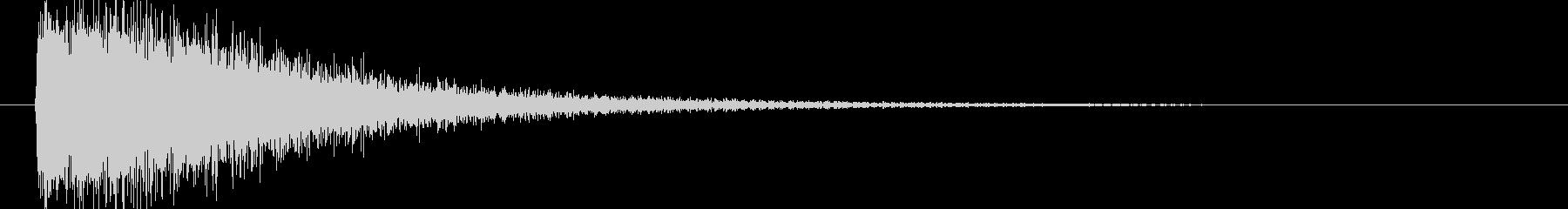 映画告知音95 ドーンの未再生の波形