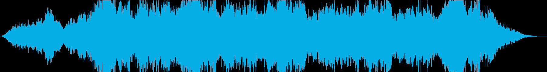 海外アニメ劇伴風ファンタジーオーケストラの再生済みの波形