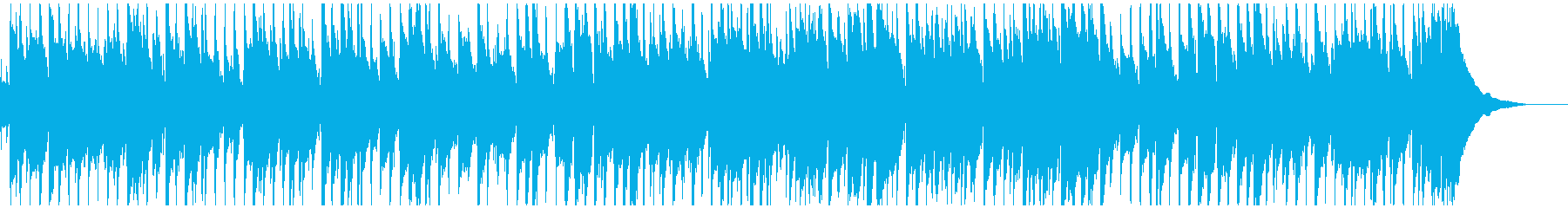 生音マンドリンとピアノの気楽なポップスの再生済みの波形