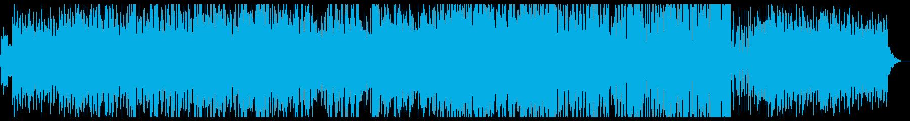 和風ヒップホップおしゃれ♪ダンスCM映像の再生済みの波形
