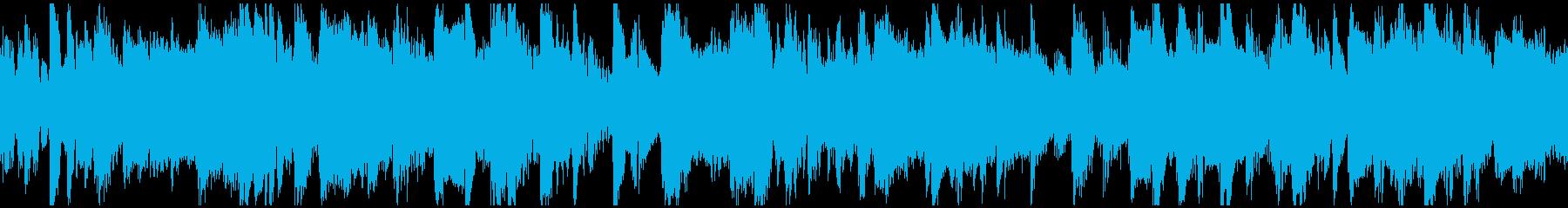 簡単でさわやかで楽しい小さなジャズ...の再生済みの波形