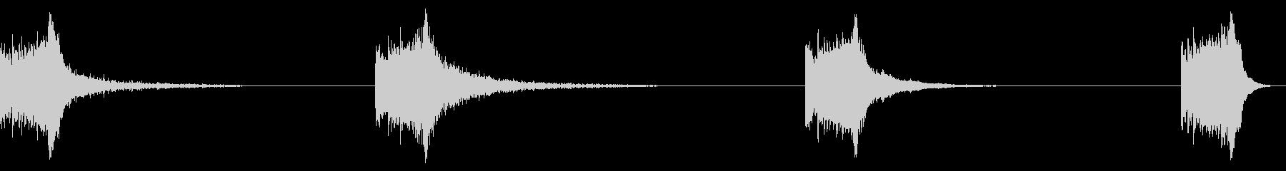 MEGA SCALE CLIMB、...の未再生の波形