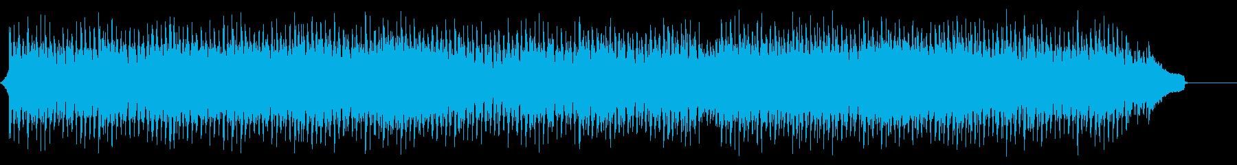 爽やかでノリの良いコーポレートBGMの再生済みの波形