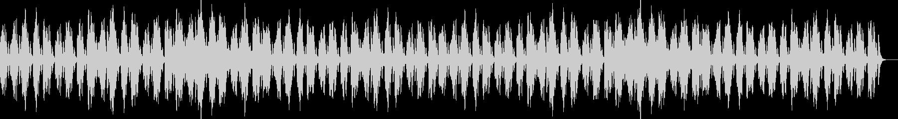 マリンバと鉄琴のかわいい系の未再生の波形
