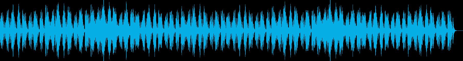 マリンバと鉄琴のかわいい系の再生済みの波形