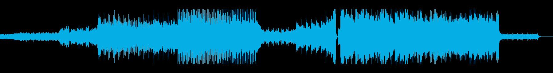 【サントラ系】和、シリアスなオーケストラの再生済みの波形