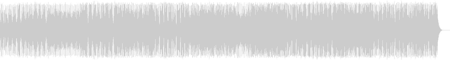 元気なエレクトロポップの未再生の波形