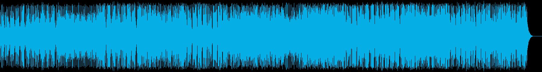 元気なエレクトロポップの再生済みの波形