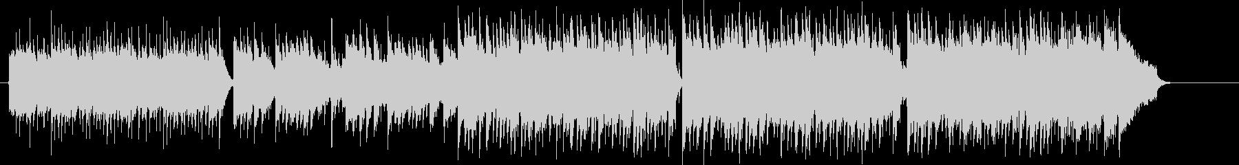 歌謡センスのピアノポップ、センチメンタルの未再生の波形