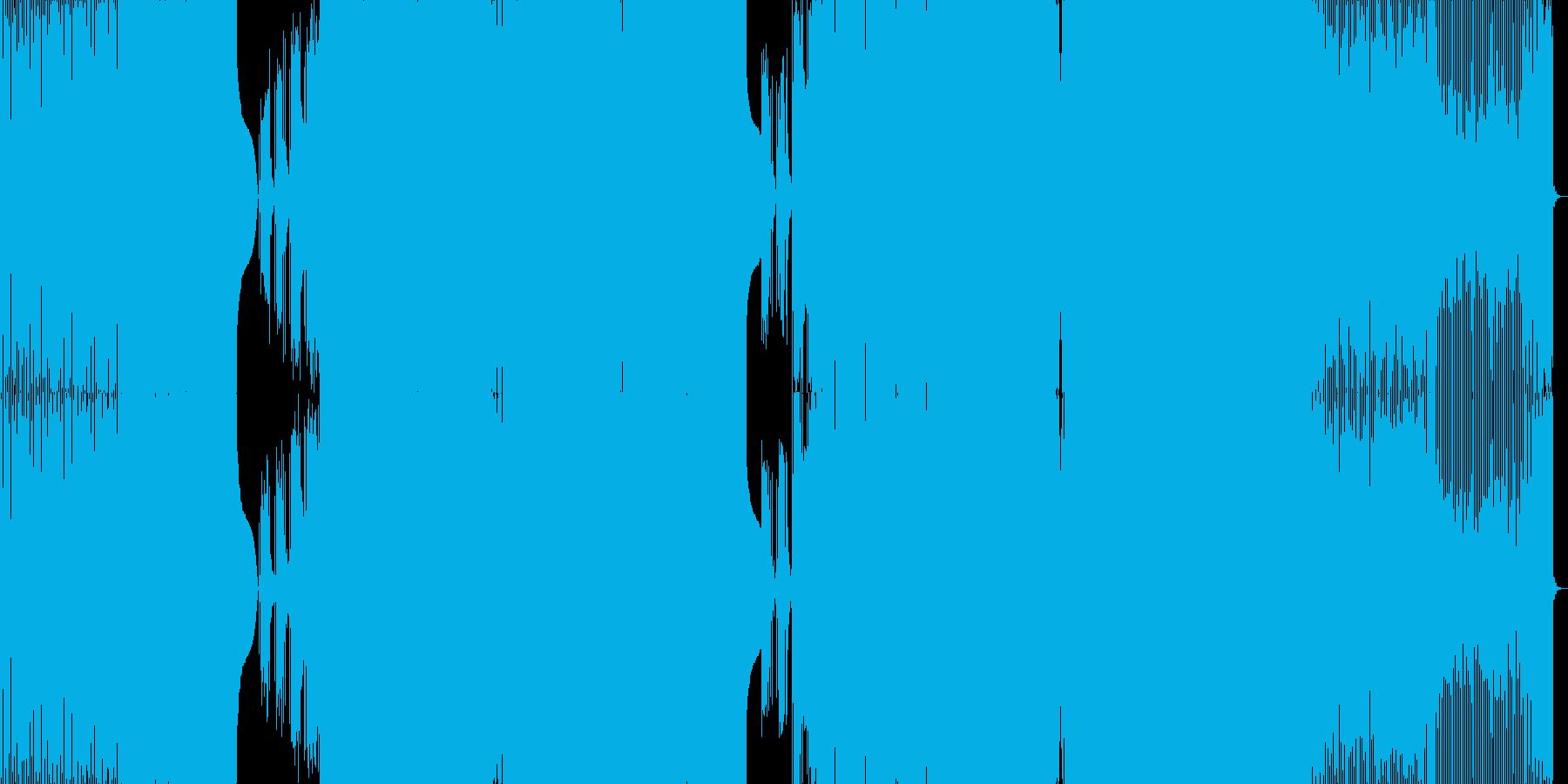 Edm、充電エネルギー、強力。の再生済みの波形