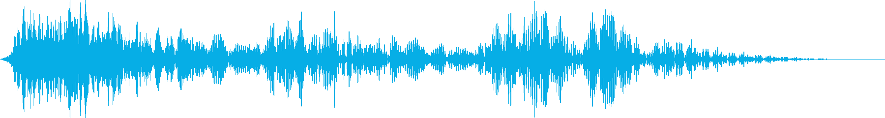 フィルターアウトによるストレッチイ...の再生済みの波形