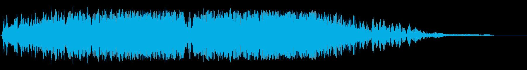ビッグガーベリングシグナル干渉スイープ2の再生済みの波形