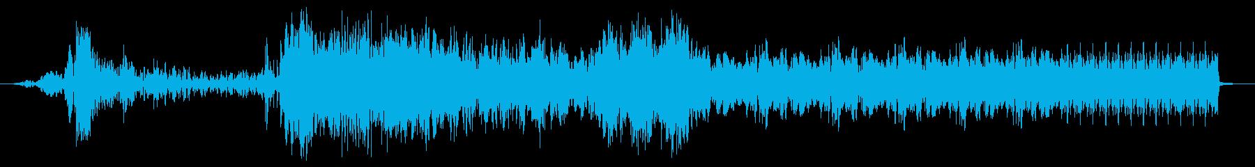 バジースタッターインパクト遷移の再生済みの波形