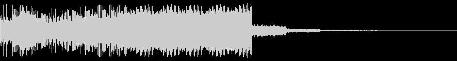 遊技機で使う和声を用いた確定、激熱音の未再生の波形