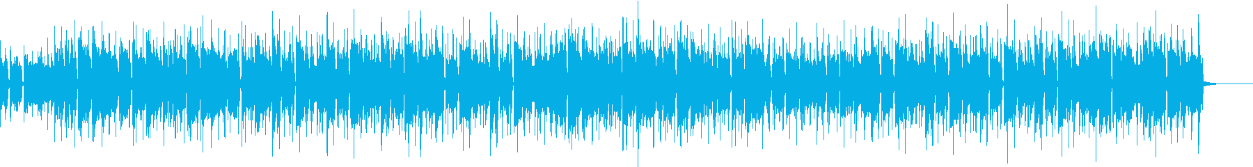 BassとGtのシックなR&B風の再生済みの波形