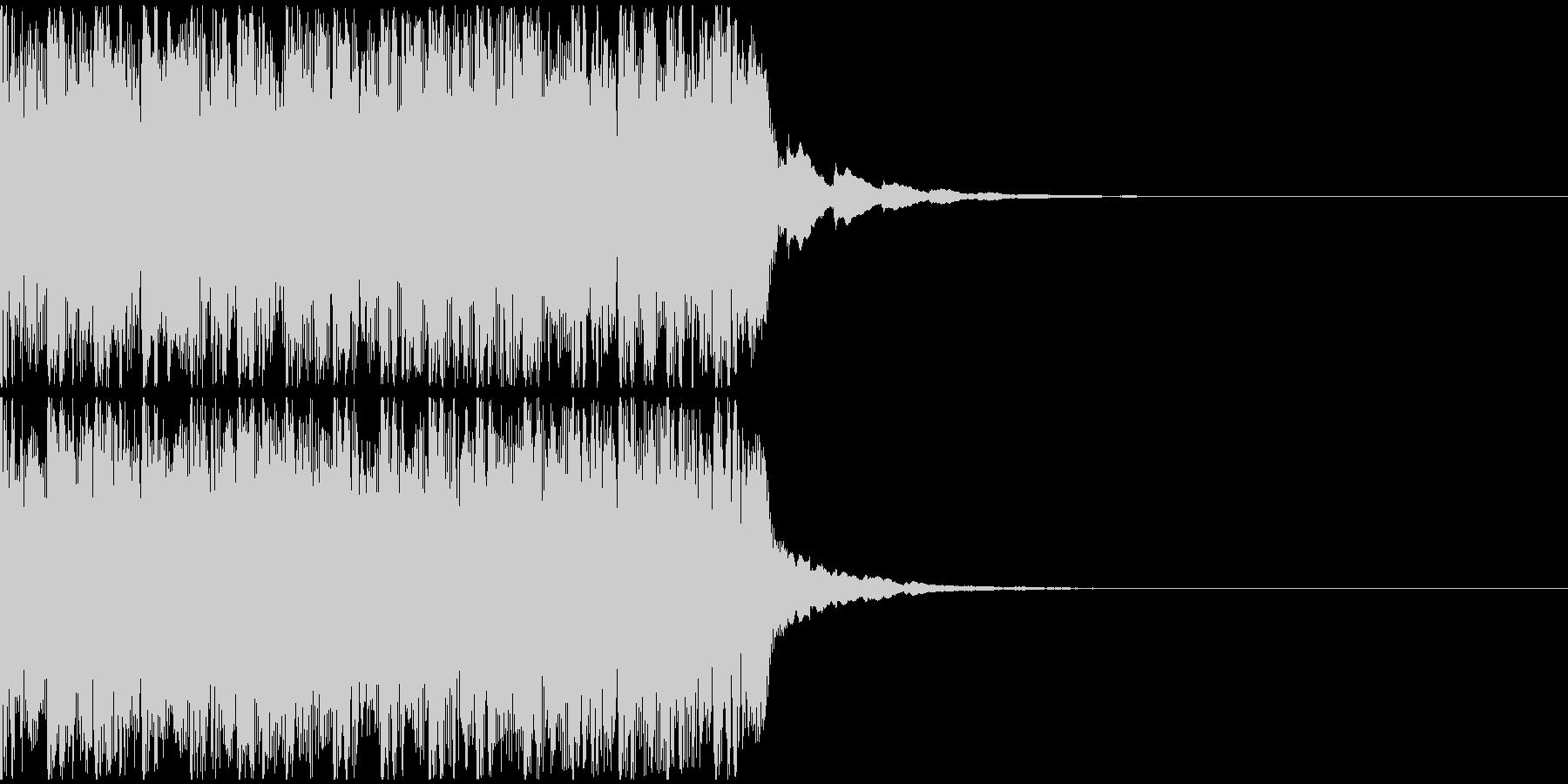 【アンビエント】ロング1、ショート2の未再生の波形
