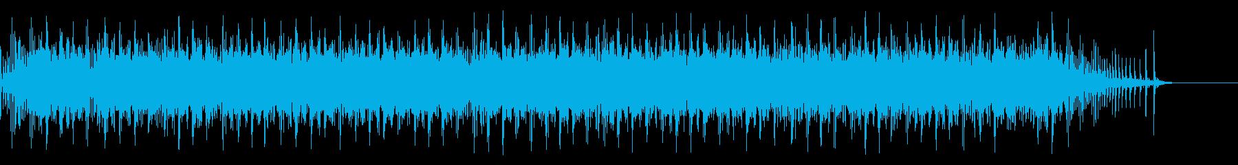 [生録音]魚釣り、リールを巻く09の再生済みの波形