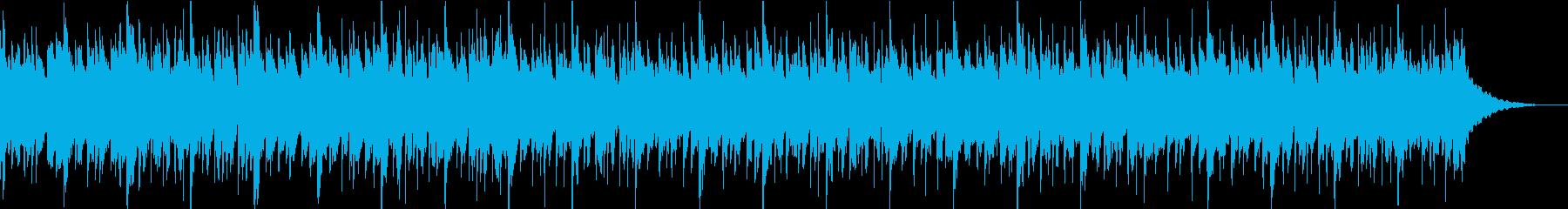 浮遊感のあるキラキラした雰囲気のEDMの再生済みの波形