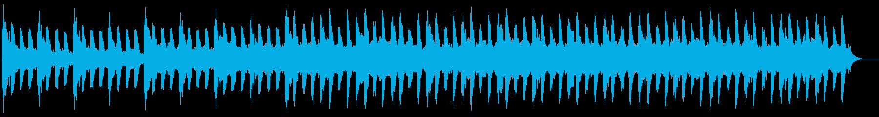 企業VPなどの映像に クールな雰囲気の再生済みの波形