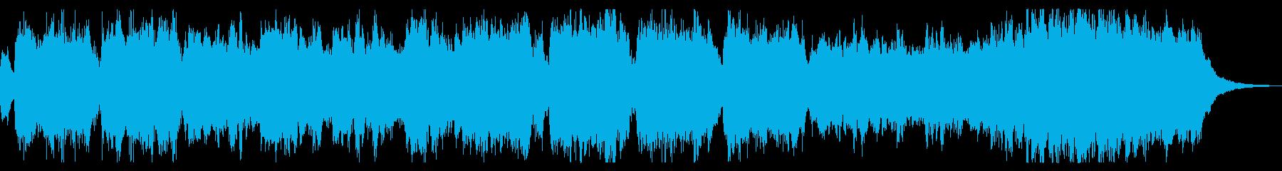ハロウィン オープニング向け ジングルの再生済みの波形