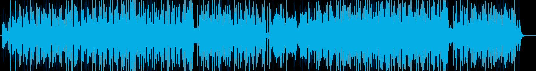明るく陽気なワールドミュージックの再生済みの波形