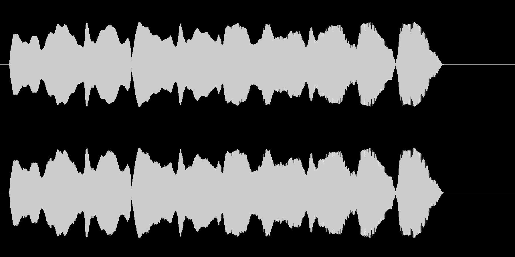 ピュロロロ(落下のコミカルな効果音)の未再生の波形