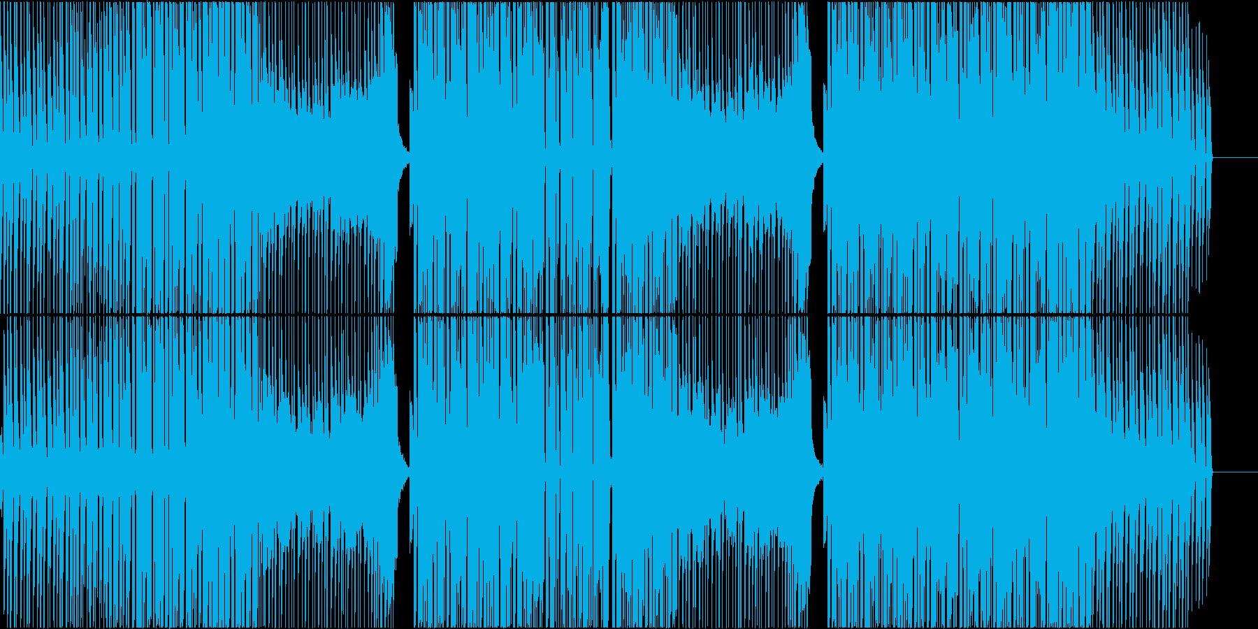 映像作品向きなシンプルなシンセポップの再生済みの波形