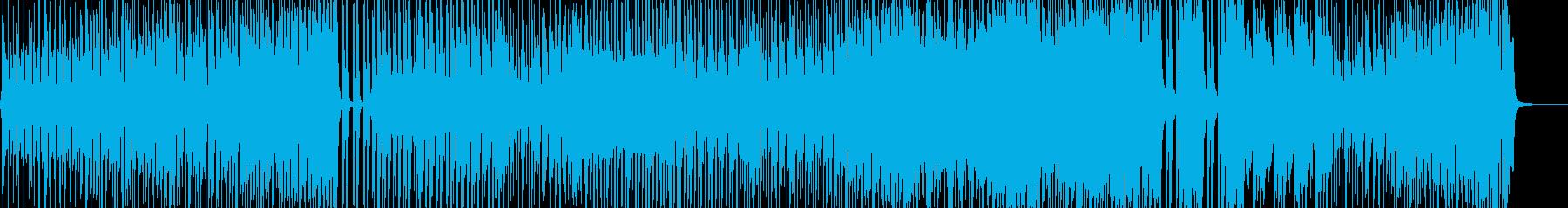 七変化アニメーションダンス調ポップ Bの再生済みの波形