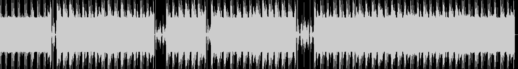 重い808とsaxのTRAPの未再生の波形