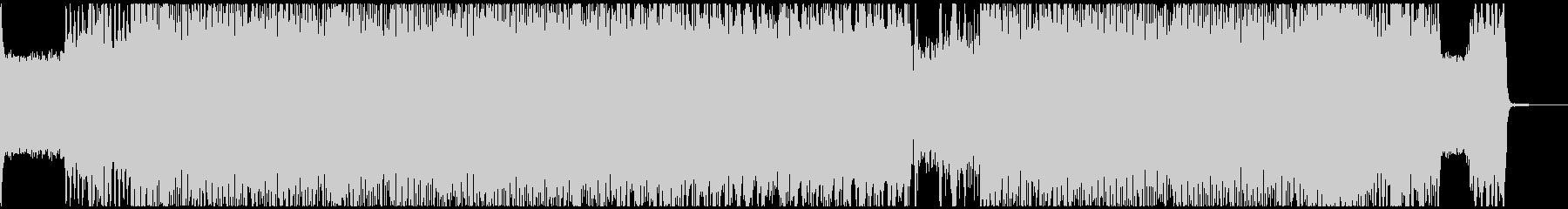 Slipknot風・極悪デスメタルの未再生の波形