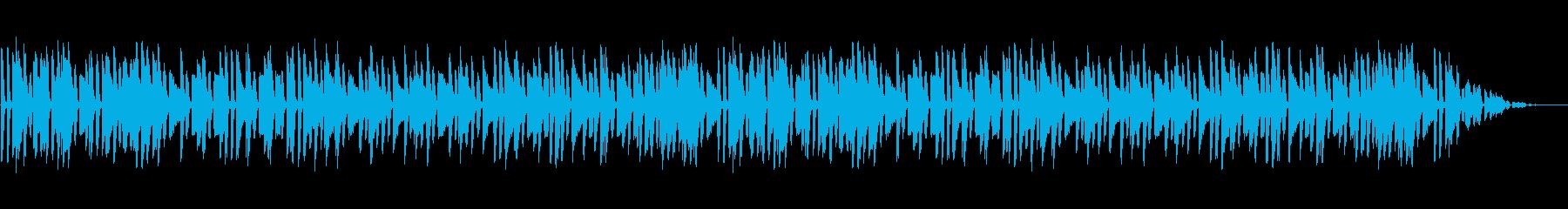 軽快で楽しげで聞きやすいピアノソロの再生済みの波形