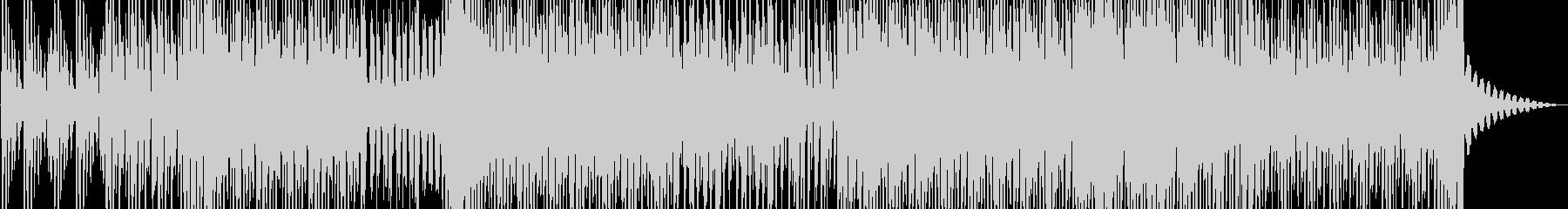 軽快でレトロ感のある、踊りたくなるBGMの未再生の波形